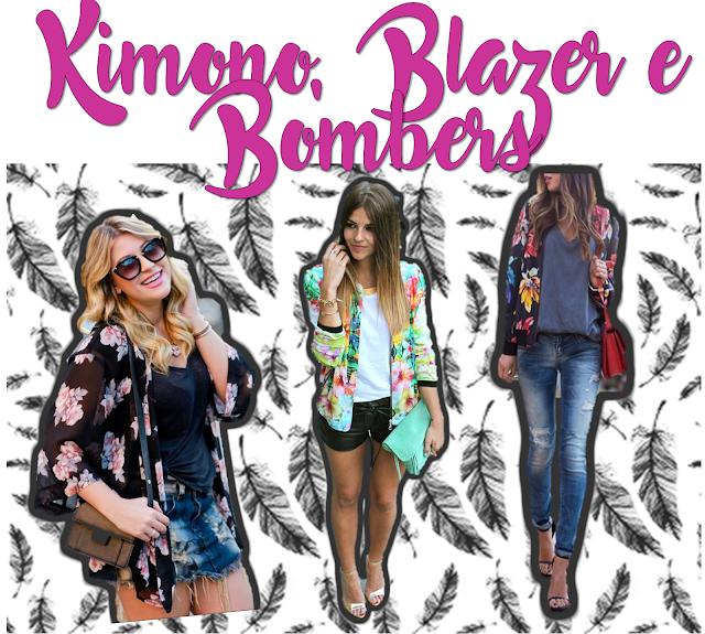blazer, kimono, bombers