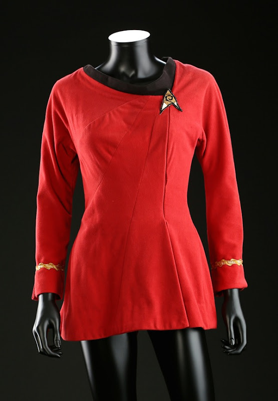 Nichelle Nichols Uhura Starfleet dress Star Trek