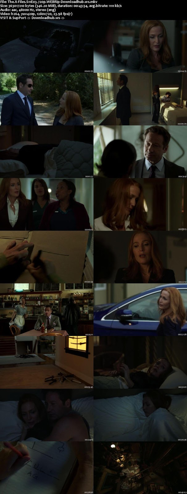 The X-Files S11E03  300MB WEBRip 720p