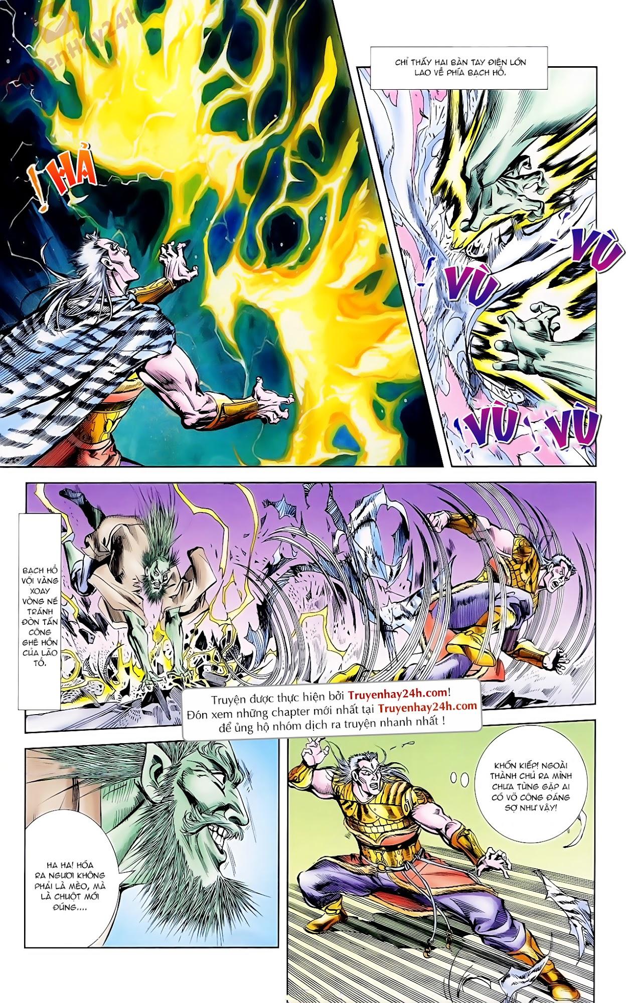 Cơ Phát Khai Chu Bản chapter 62 trang 22