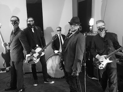 Hallelujah Picassos - 'Dirty Suits' video shoot, 2016