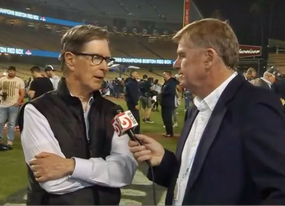 John-Henry-being-interviewed-after-Boston-Red-Sox-Win-World-Series