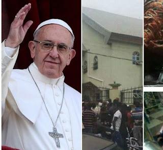 Pope reacts to Ozubulu Church Massacre
