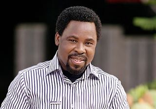FG begs prophet TB Joshua not to relocate to Isreal