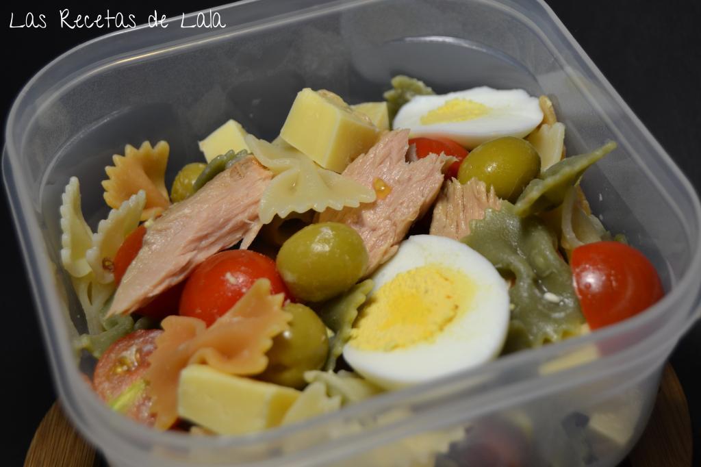 Las recetas de lala ensalada de pasta - Llevar comida al trabajo ...