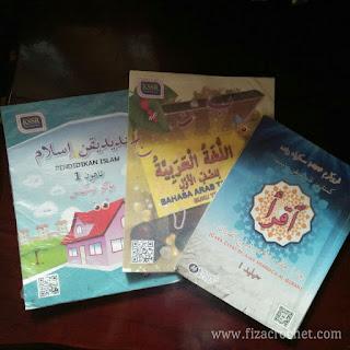Senarai buku pendidikan islam tahun 1