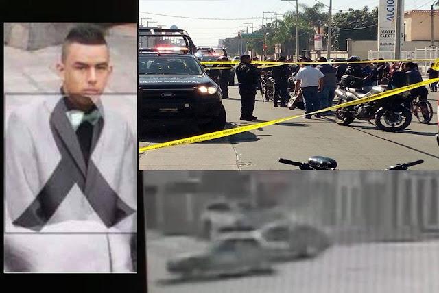 VÍDEO ATERRADOR , Sicarios del CJNG ejecutan a un inocente de 18 años, en un ataque a otras dos personas en Irapuato