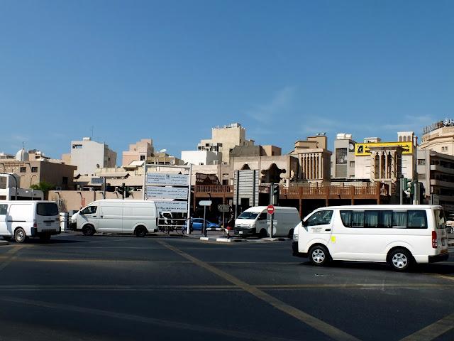 un paseo por la zona antigua de Dubai