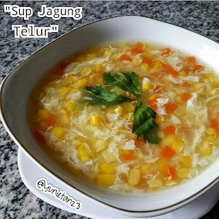 Ide Resep Masak Sup Jagung Telur