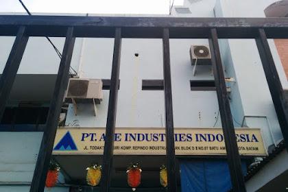 Lowongan Pekerjaan PT. ACE INDUSTRIES INDONESIA Mei 2019
