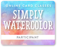 Online Card Classes - Simply Watercolor