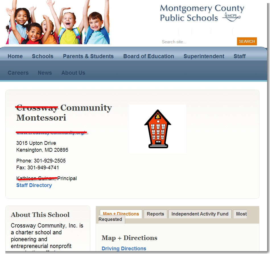 Montgomery County Public Schools: Parents' Coalition Of Montgomery County, Maryland: MCPS