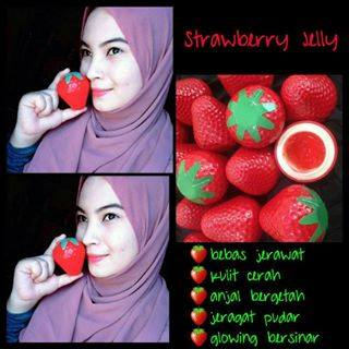 STRAWBERRY JELLY FACE