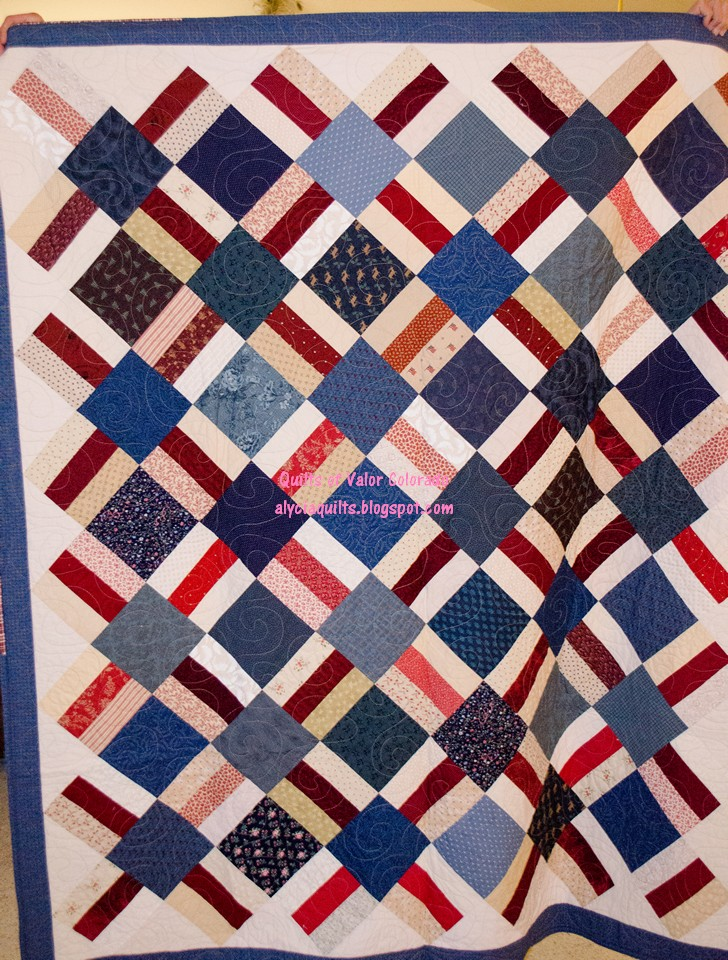 Easy Quilt Of Valor Pattern