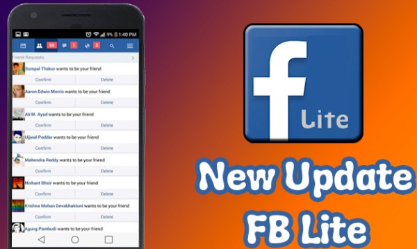 fb lite login