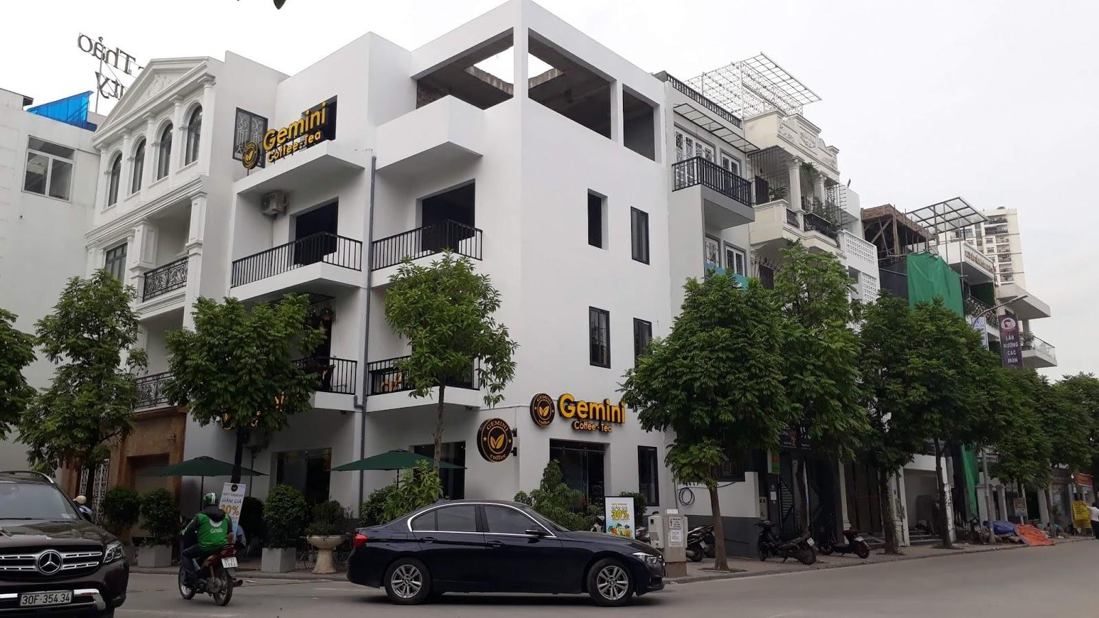 Khu nhà liền kề ngõ 622 Minh Khai