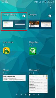 Cara Menambahkan Google Search (widget) Ke Home Screen Perangkat Samsung Galaxy