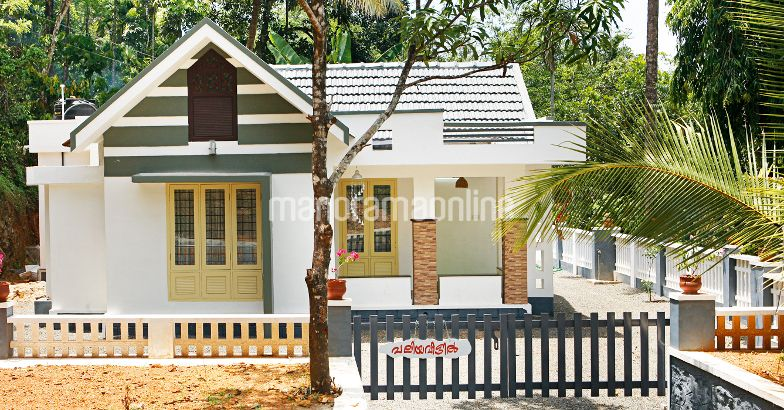 928 sq ft beaufiul villa in 2 5 cent plot with 03 bedrooms for House plans in 10 cents