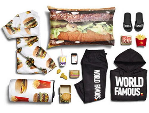 Mcdonalds Global McDelivery Day Free Swag