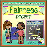 Fairness Character Education - Social Skills Teaching Packet