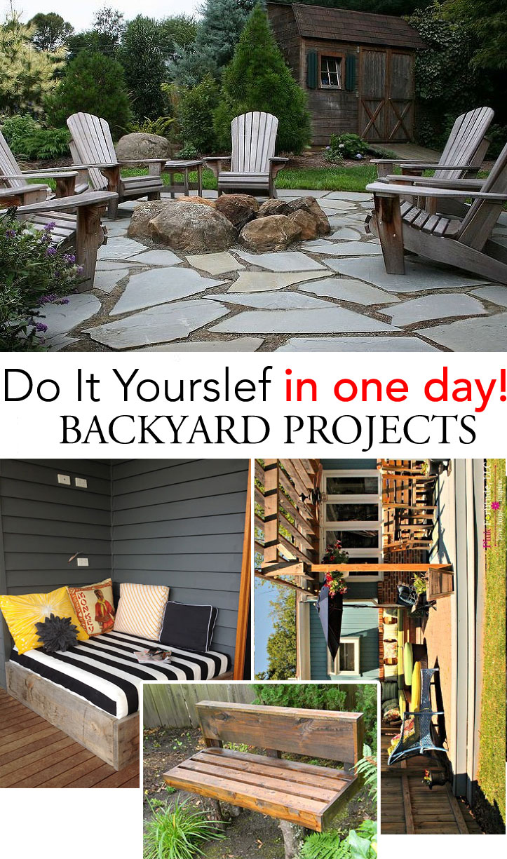 DIY : One Day Backyard Projects • Ideas Tutorials!