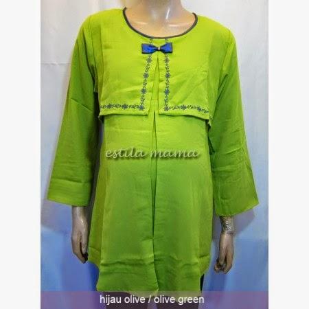 Kombinasi Model Baju Hamil Muslim Gamis untuk Kerja