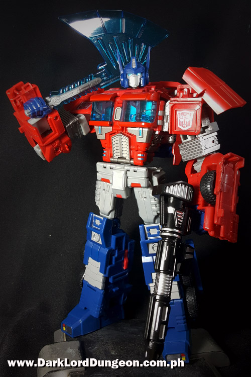 SND-01 Primo Vitalis Optimus Prime Upgrade Kit Review