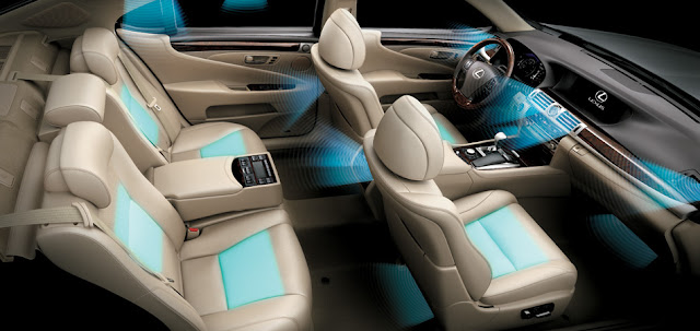 Hệ thống điều hòa thông minh lần đầu tiên trên thế giới có khả năng đo thân nhiệt và tự động điều chỉnh nhiệt độ phù hợp mang lại cảm giác dễ chịu cho người ngồi trên xe.