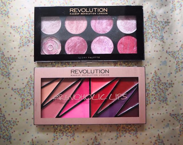Blush and Lip Palettes