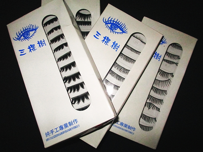 Cheap Ebay fake lashes review!