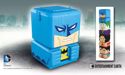 DC Comics Tiki Tiki Totem Wooden Stackable Figures by Entertainment Earth - Batman