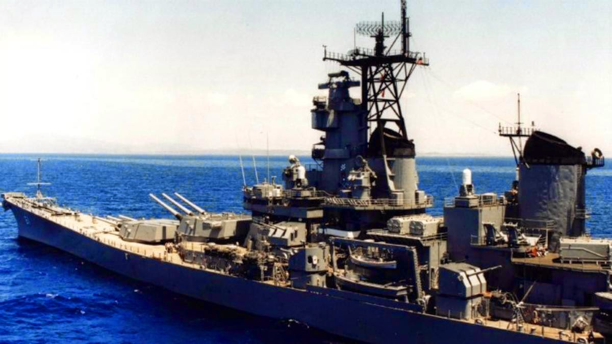 USS Iowa | Arctic Petrel