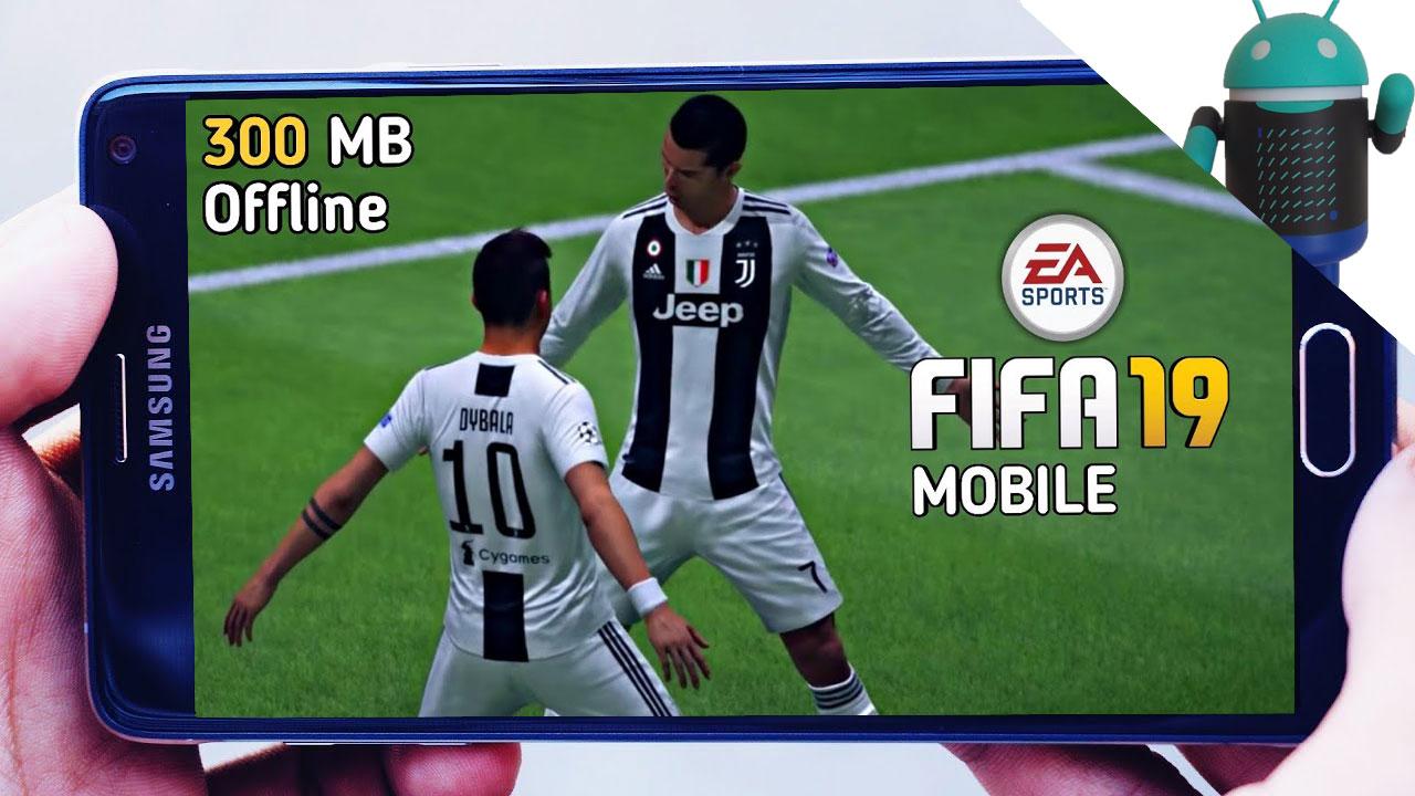 تحميل لعبة FIFA 19 Lite للاندرويد بحجم صغيرا 300 MB للاجهزة