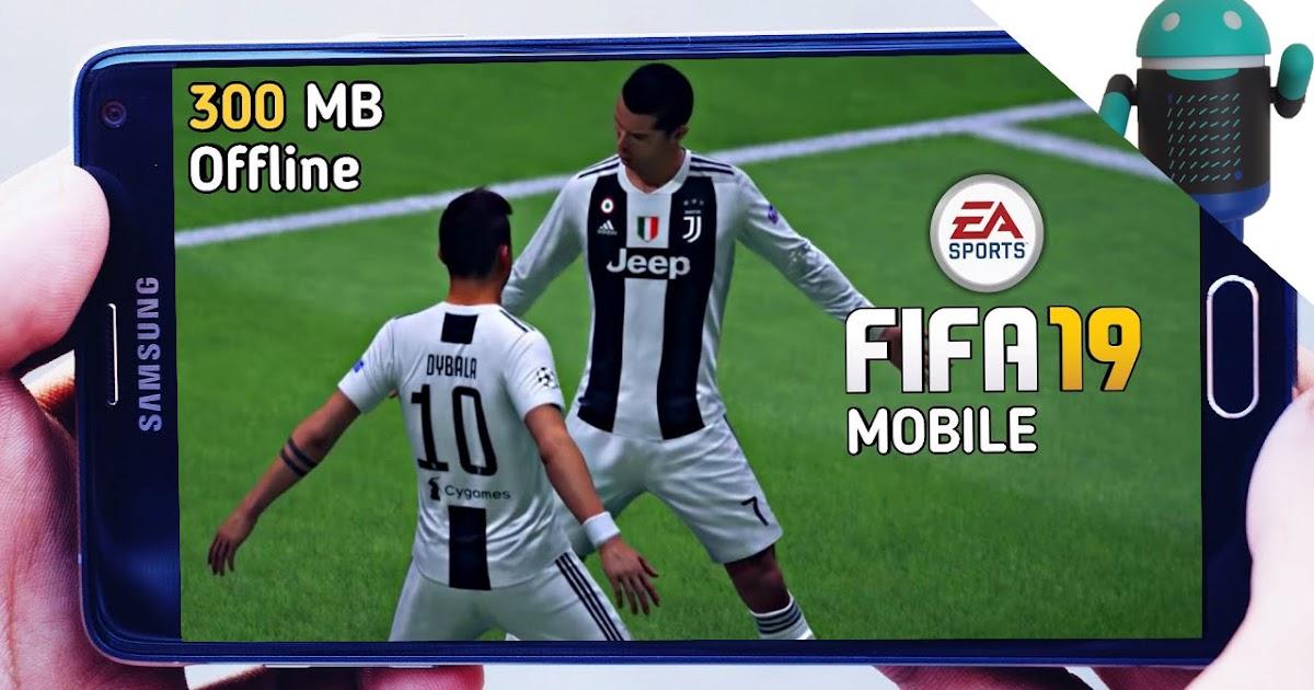 تحميل لعبة Fifa 19 Lite للاندرويد بحجم صغيرا 300 Mb للاجهزة الضعيفة