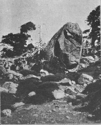 Glaciares de peñalara Obermaier y Carandell.