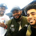 BBN contestant ThinTallTony all smiles as he lands in Lagos (Photos)