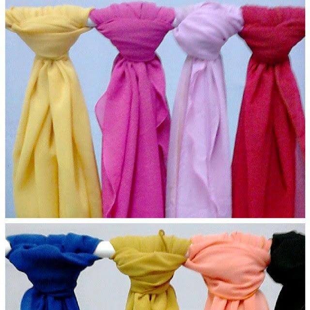 shawl halfmoon yaya
