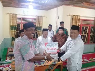 Pada Safari Ramadhan di Patamuan, Bupati Ali Mukhni Ajak Masyarakat Selalu Ramaikan Masjid, Surau dan Mushalla