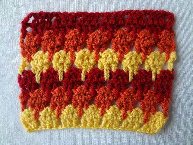 Larksfoot stich Crochet Pattern