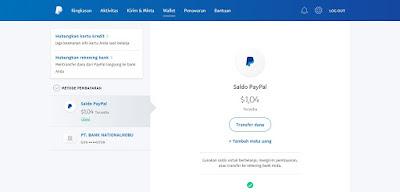 Cara Transfer Saldo Paypal Ke Ovo Rekening Dengan Mudah