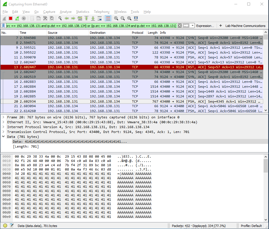 Extract Data From Pcap File Scapy