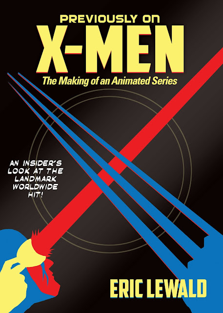 'Previously On X-Men' - book cover.