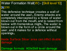 naruto castle defense 6.0 Tobirama Water Formation Wall detail