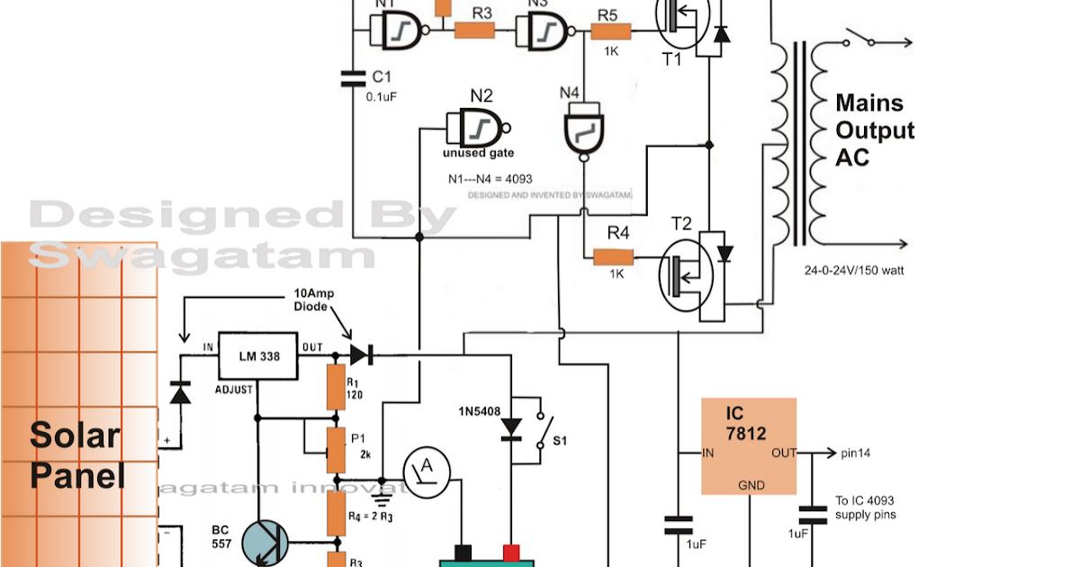 2000 W Inverter Circuit Diagram