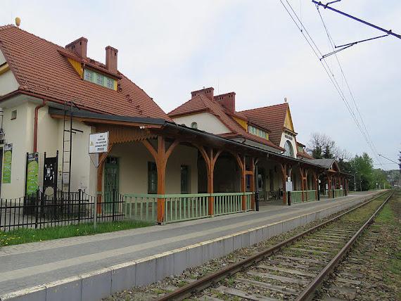 """Dworzec kolejowy """"Rabka-Zdrój"""""""