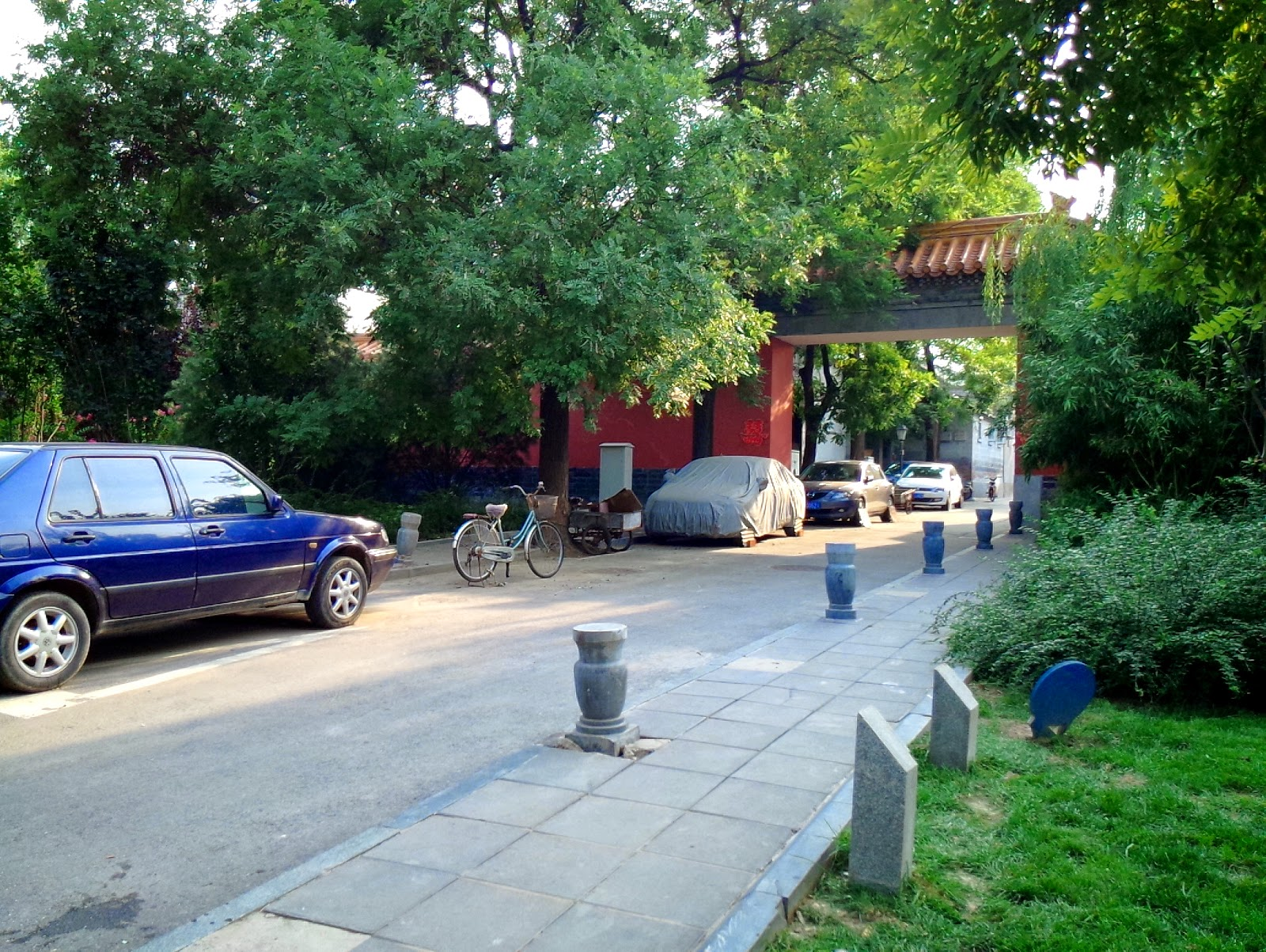 【北京。食記】四合院裡的親子下午茶時光~石榴樹下法餐咖啡館(小毛球9M)