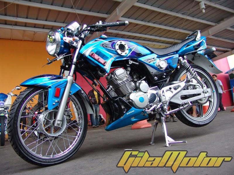 kumpulan modifikasi motor honda mega pro 2007