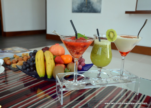 Villa Rotana drinks