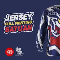 Now Available !! Custom Jersey Full Printing Satuan Desain Suka Suka