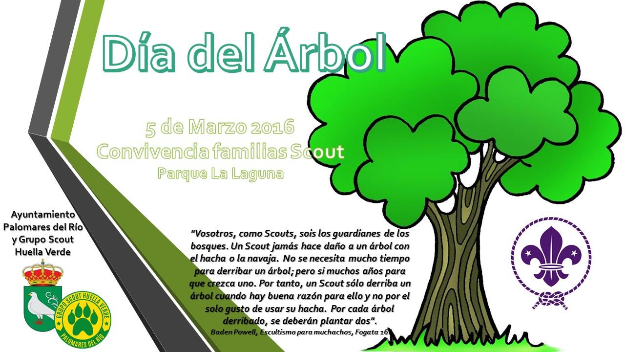 Grupo scout huella verde d a del rbol for Dia del arbol 01 de septiembre